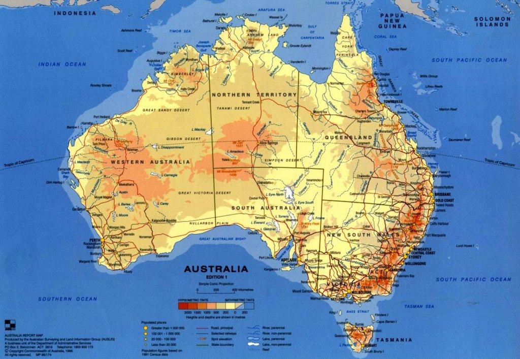 Visum Australië