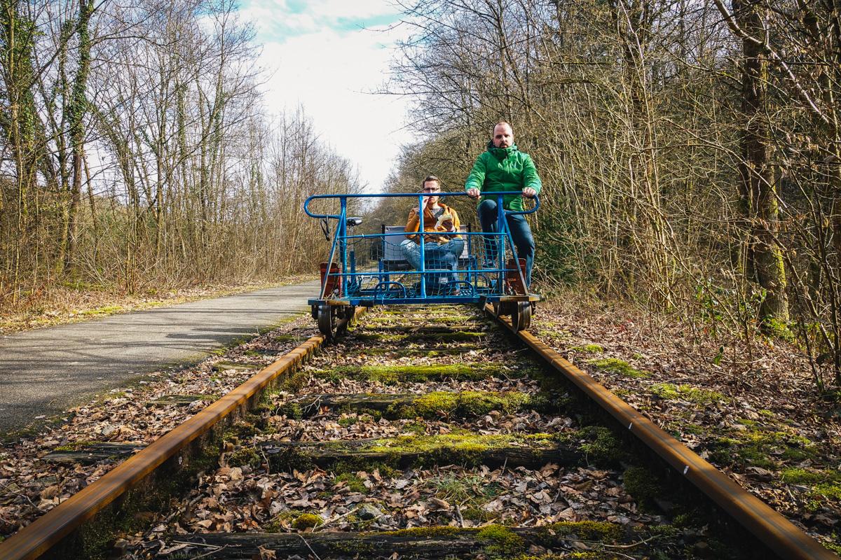 Railbike Ardennen