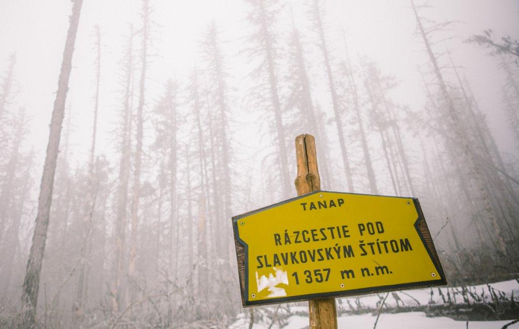 hiken in tatras gebergte slowakije