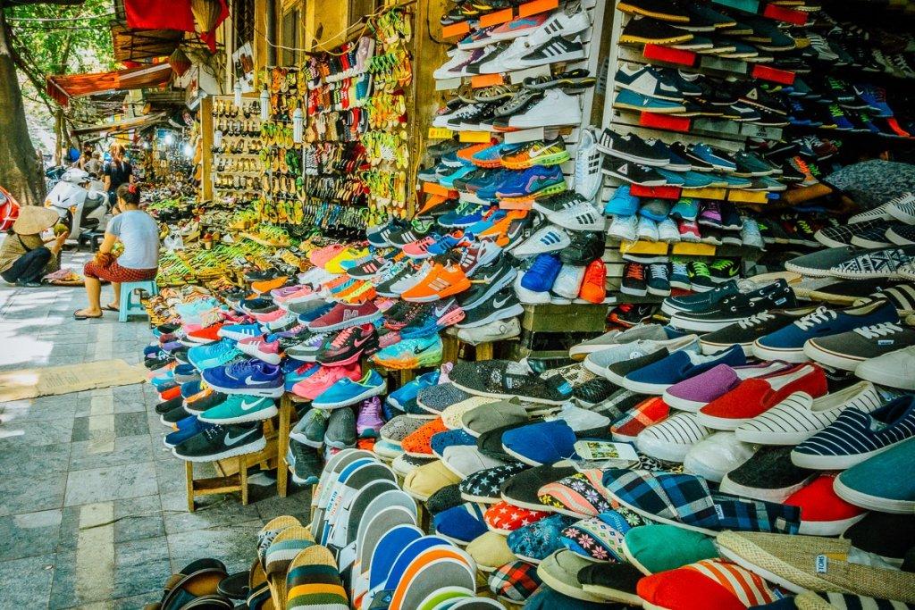 street market thailand vietnam