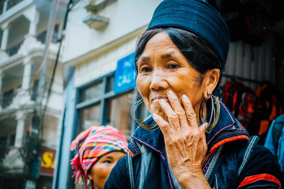 Foto rijstvelden in Vietnam