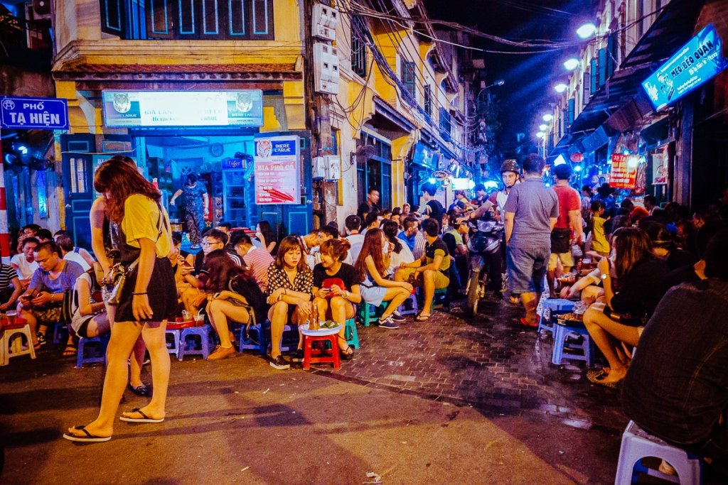 roadtrip door vietnam op brommer