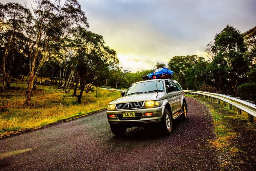 4WD in the Blue Mountains