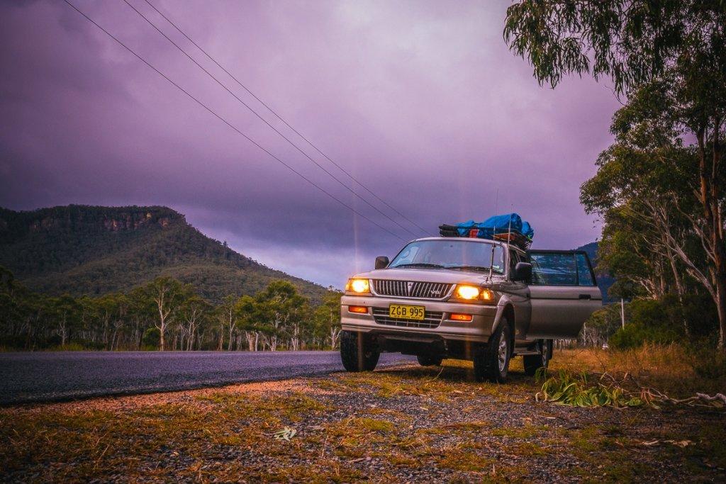 roadtrip blue mountains