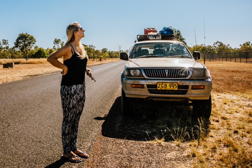 roadtrip Litchfield Kakadu National Park en Katherine Nitmiluk