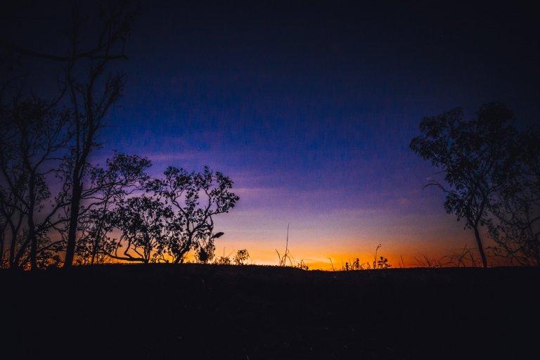 katherine nitmuluk national park zonsondergang