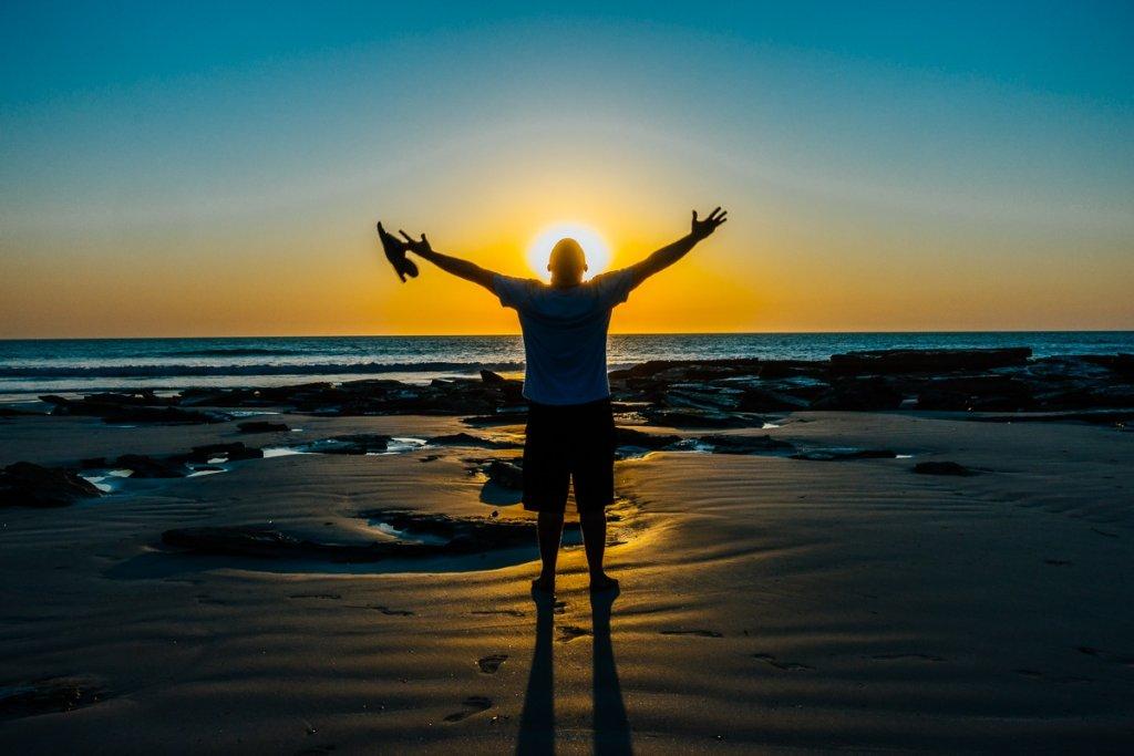 zonsondergang westkust australie broome