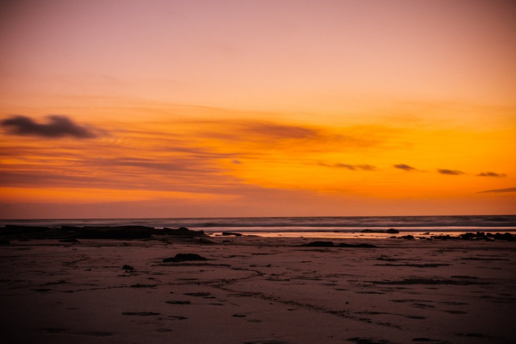 Zonsondergang australie