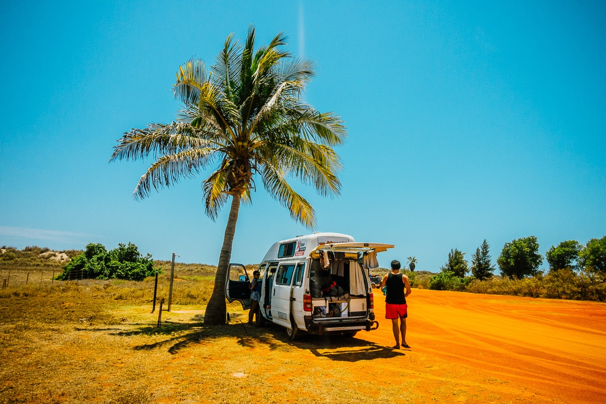 Roadtrip Darwin Perth australie maken