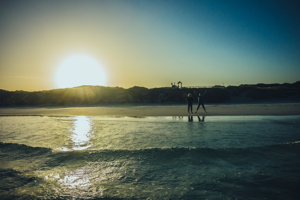 Zonsondergang Esperance Australie