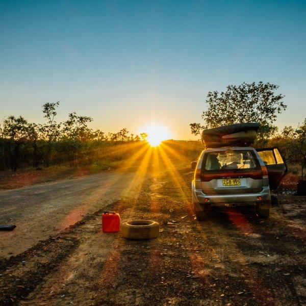 Die keer dat ik helemaal alleen in de verlaten Outback vastzat.