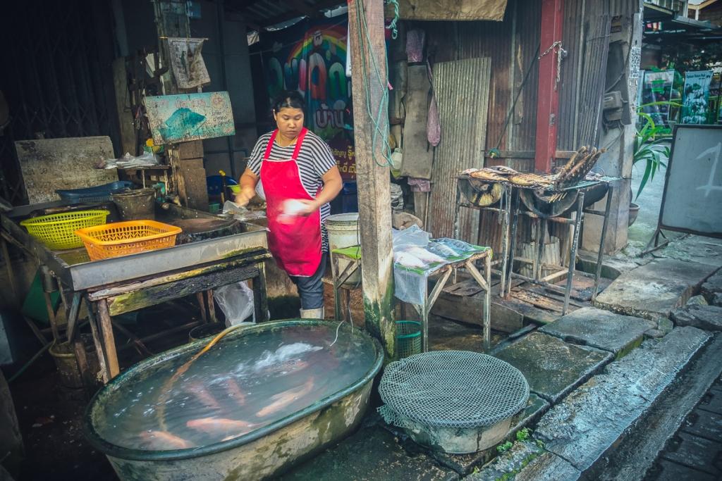 street markets chiang mai
