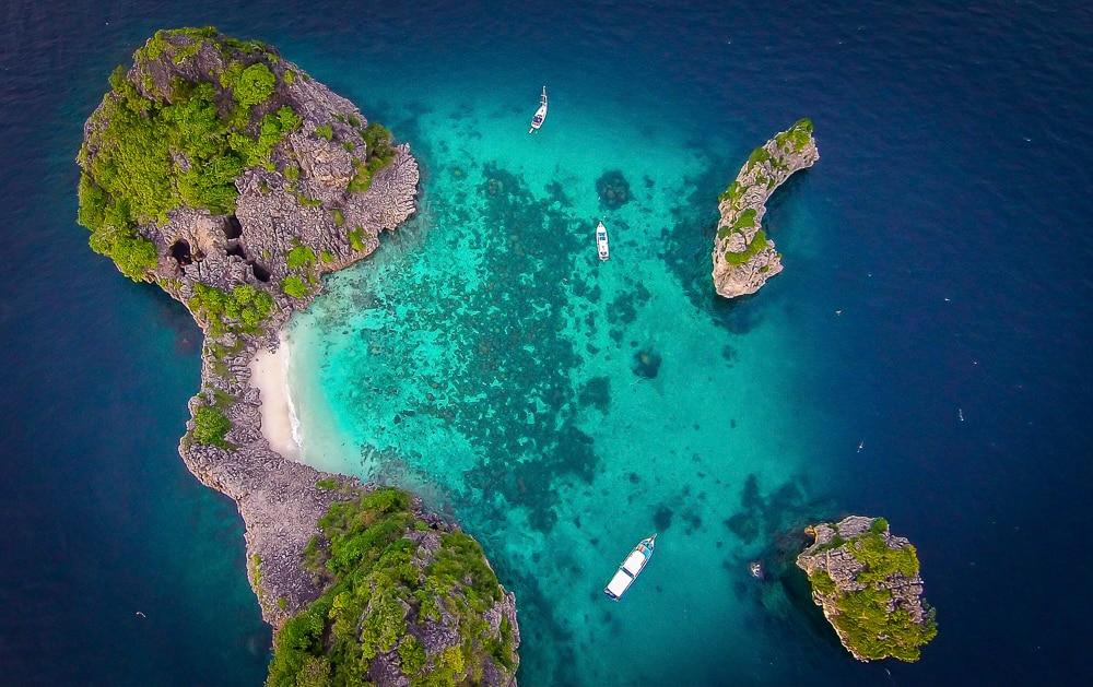 waar duiken in thailand