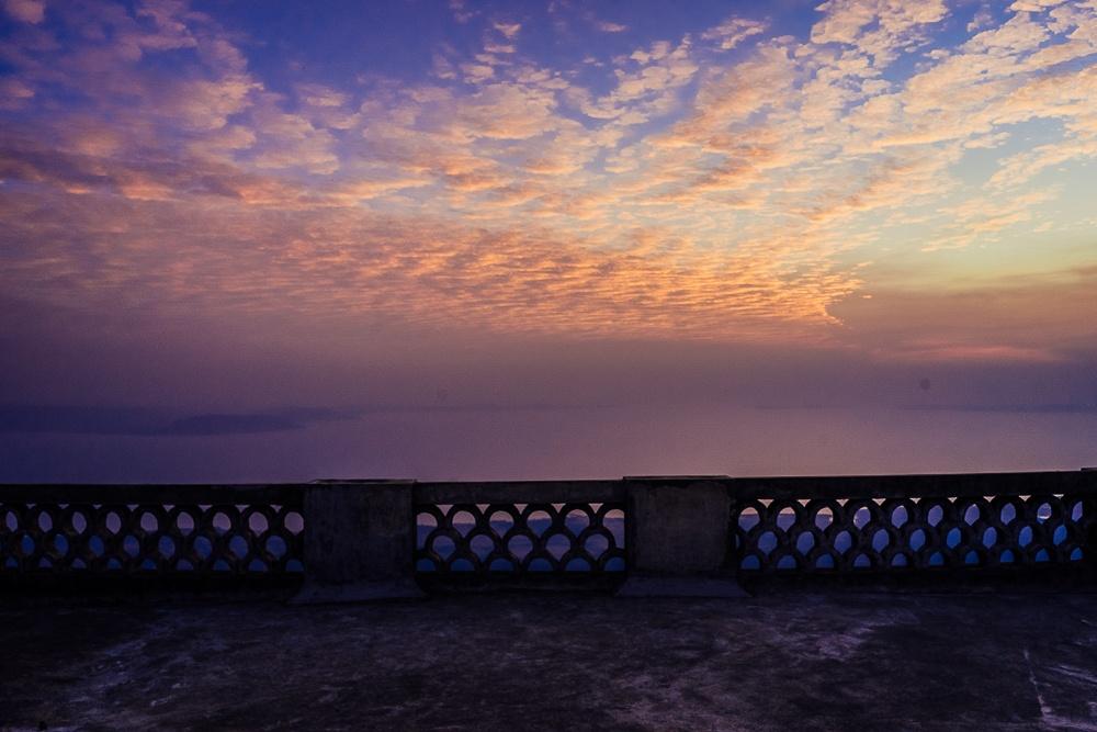 sunset cambodja