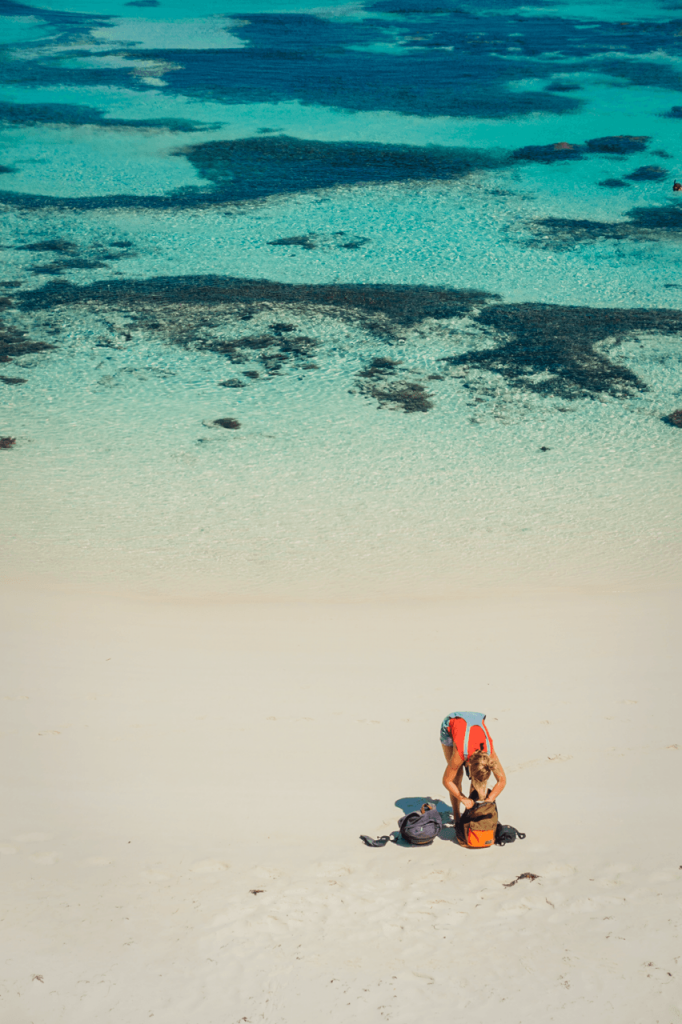 soloreis door Australie