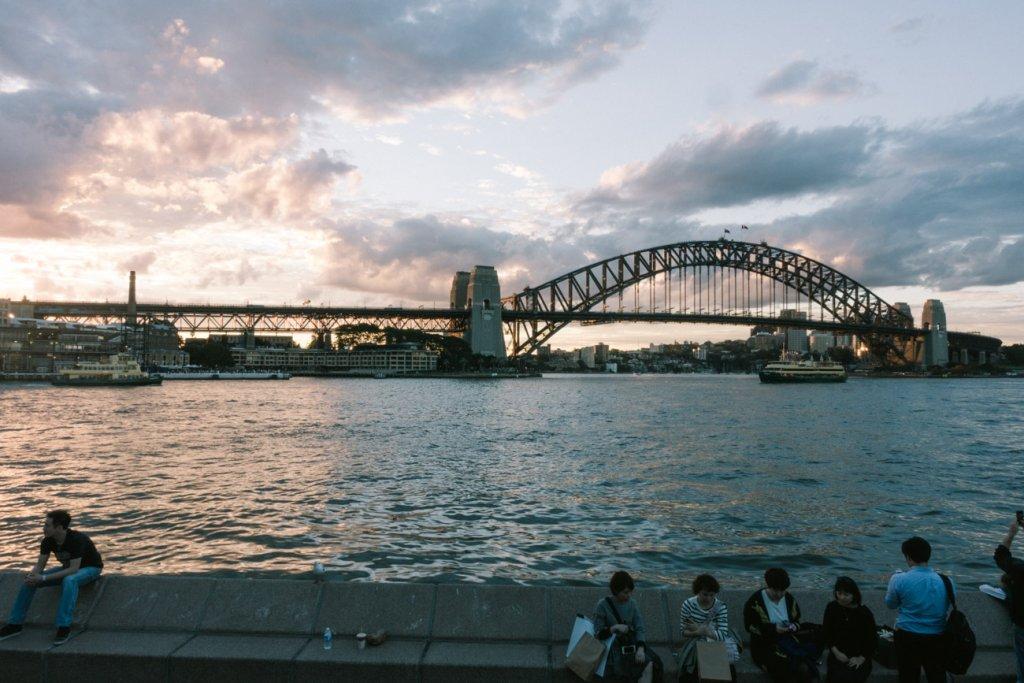 sydney brug fotografie voor je wereldreis