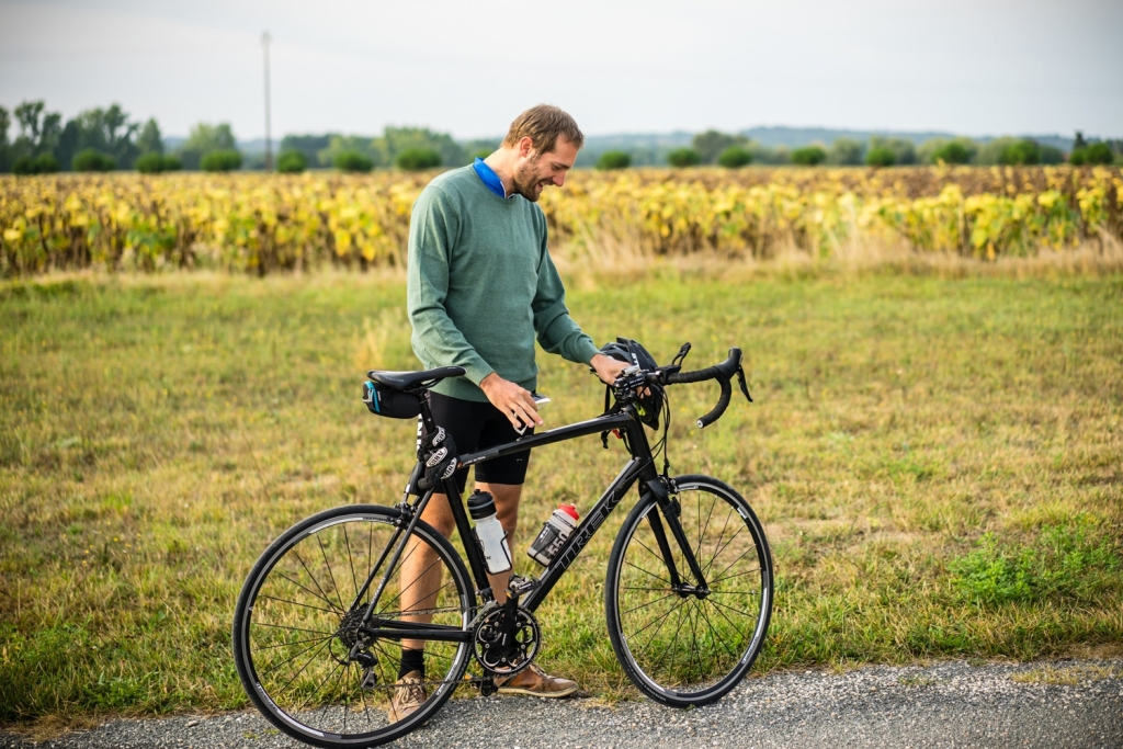 fietsen naar compostela