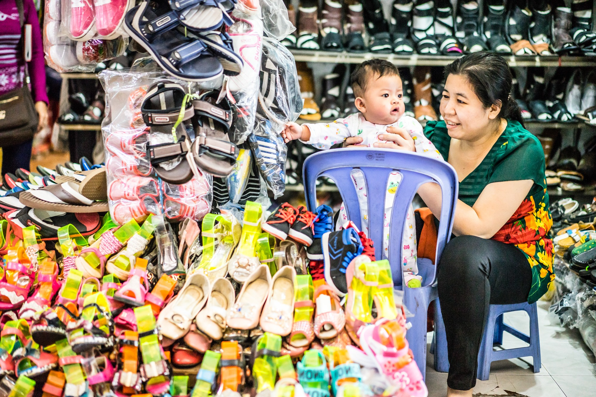 Portretten van Cambodjanen