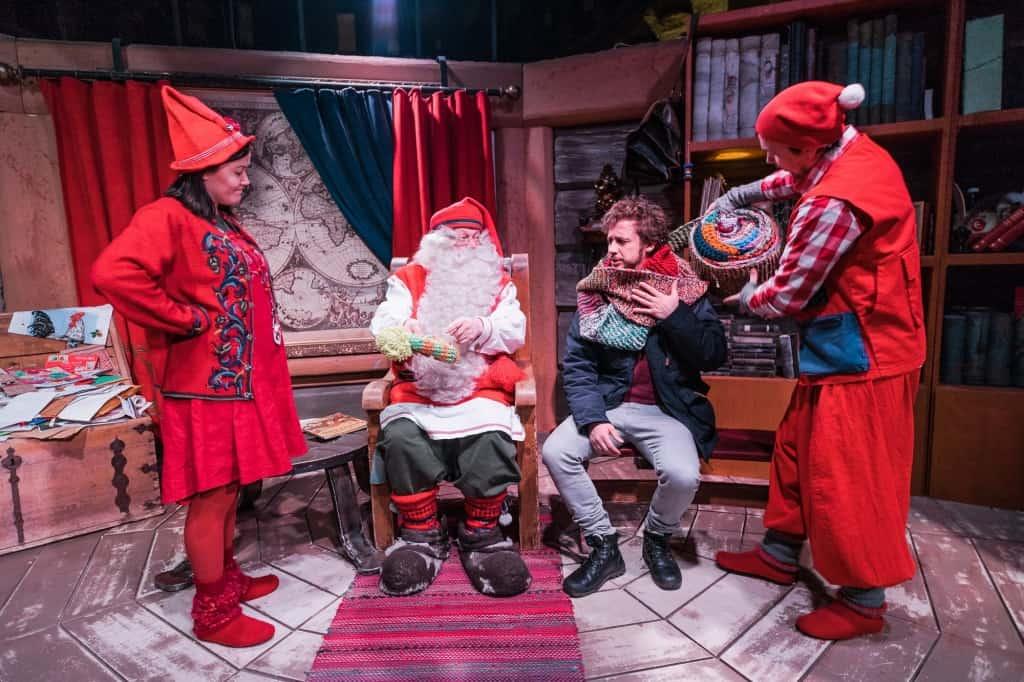 Kerstman Lapland Santa Claus Village