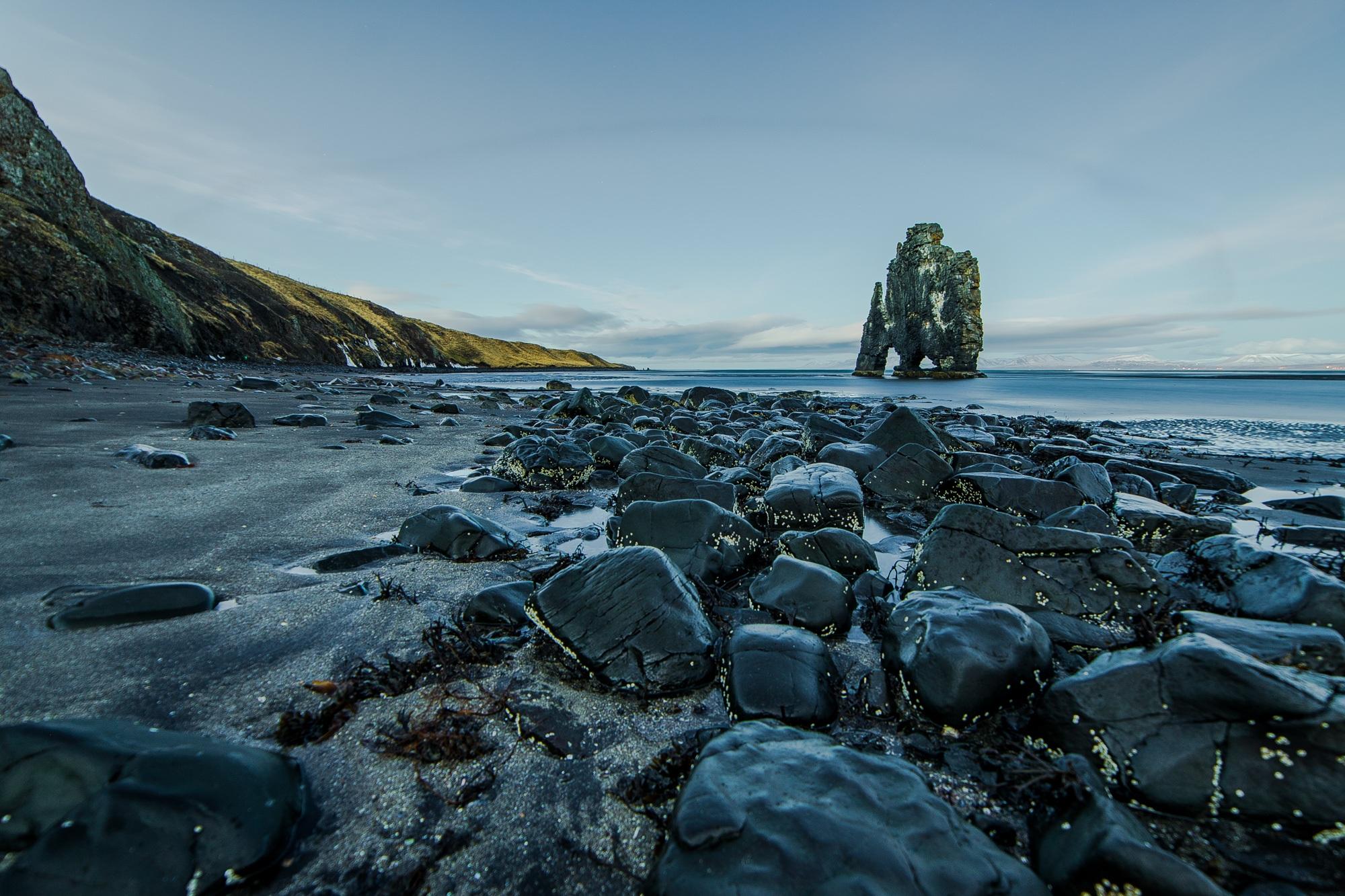 Fotos van IJsland Hvitserkur