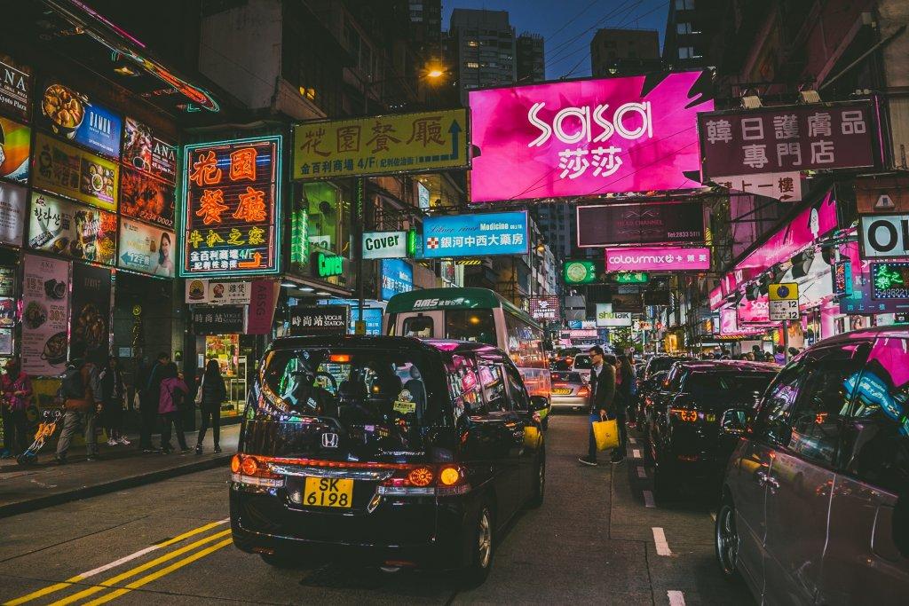 Hong Kong tussen de locals. Veel locals.