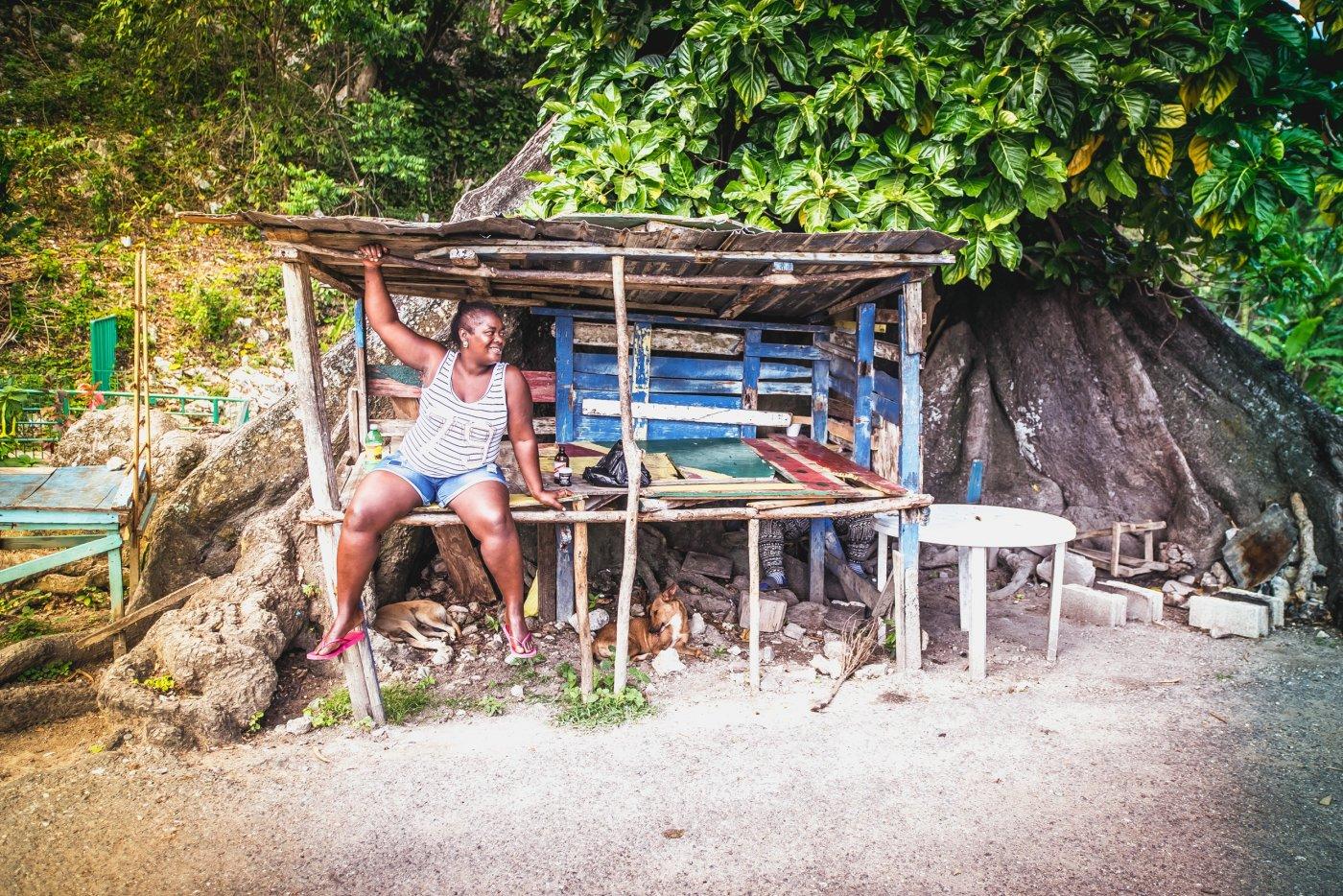 Portret fotografie Jamaicanen