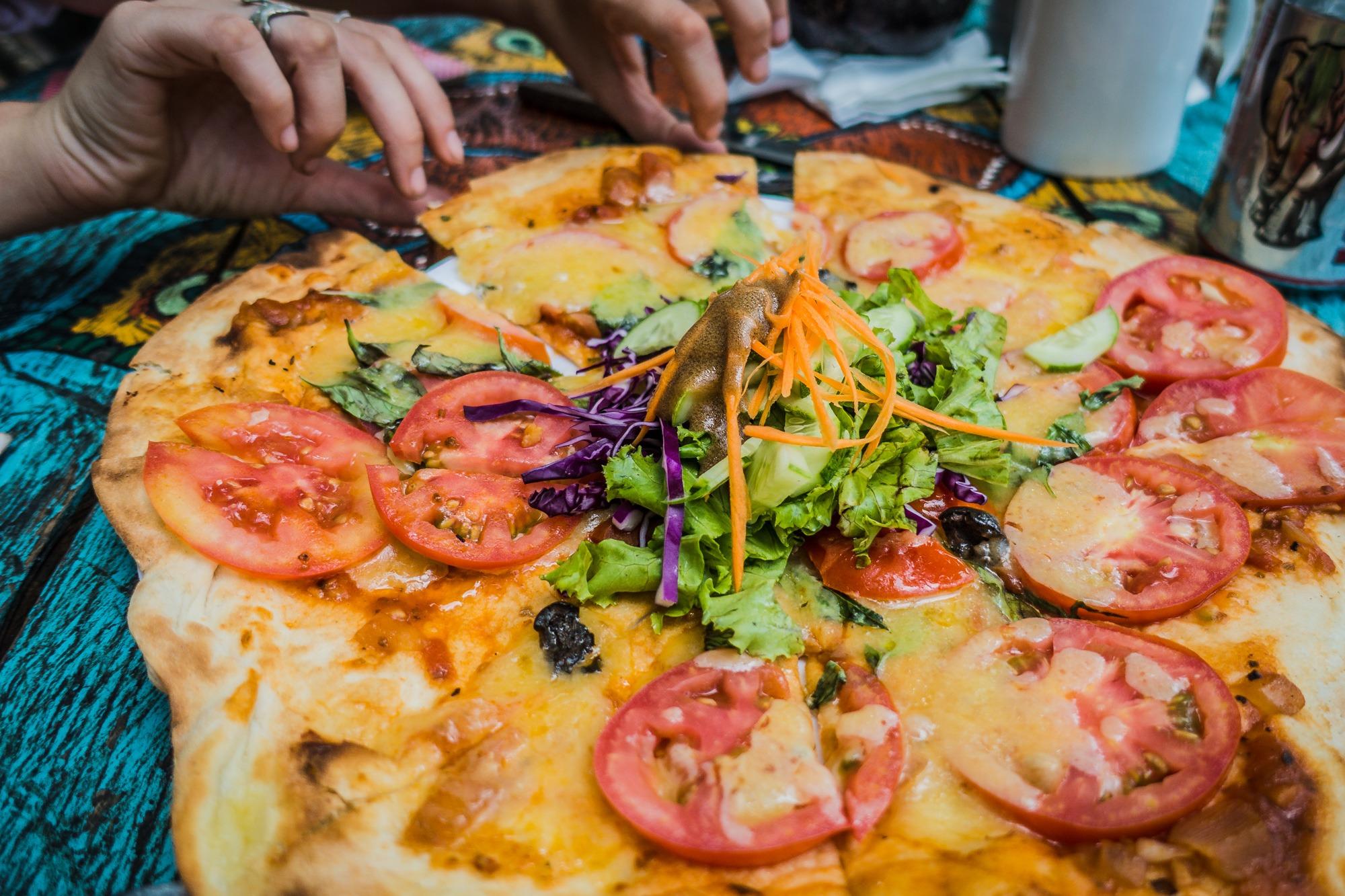pizza cambodia
