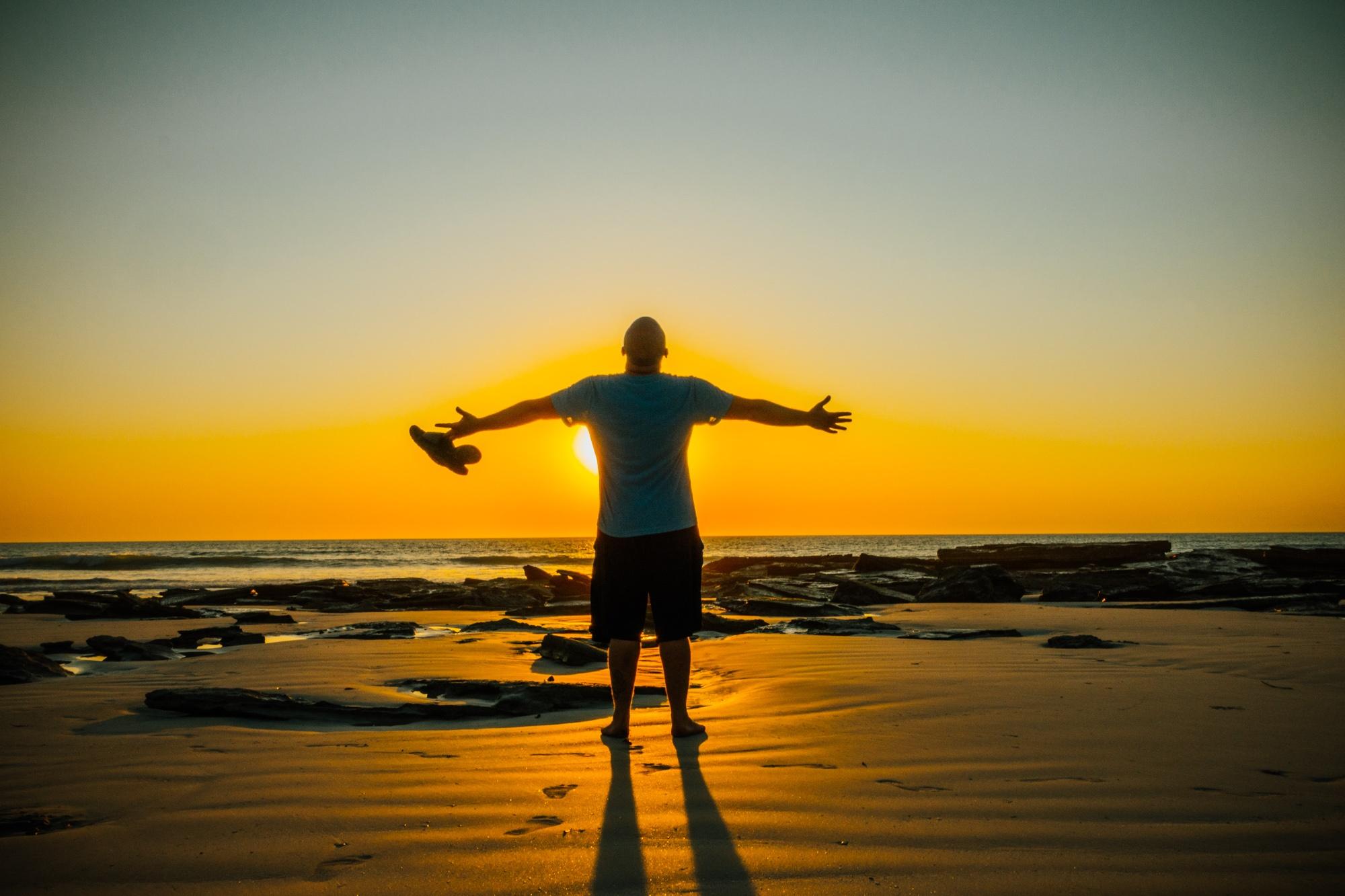 Sunset wes tcoast Australia