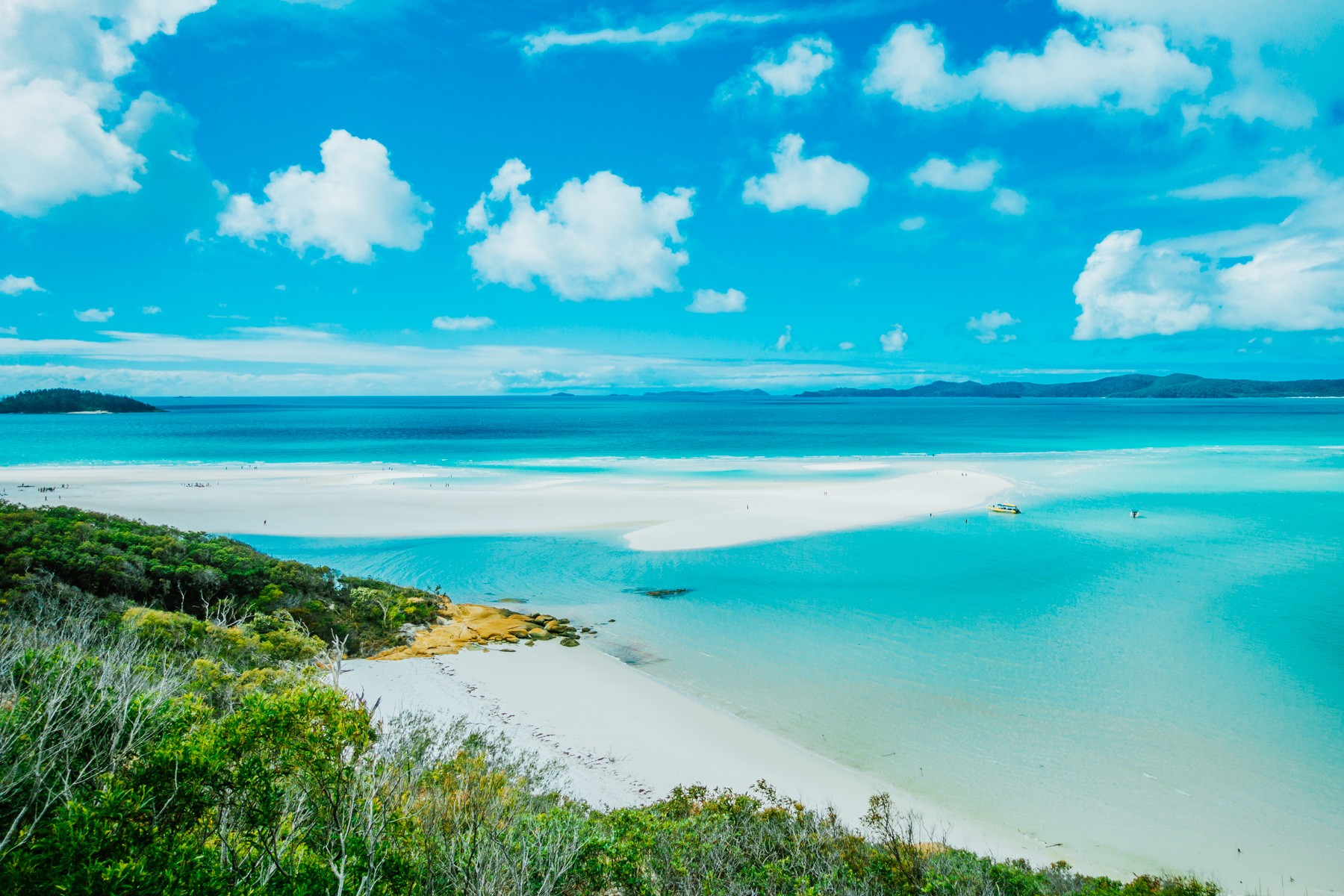In beeld: de Whitsunday eilanden in Queensland
