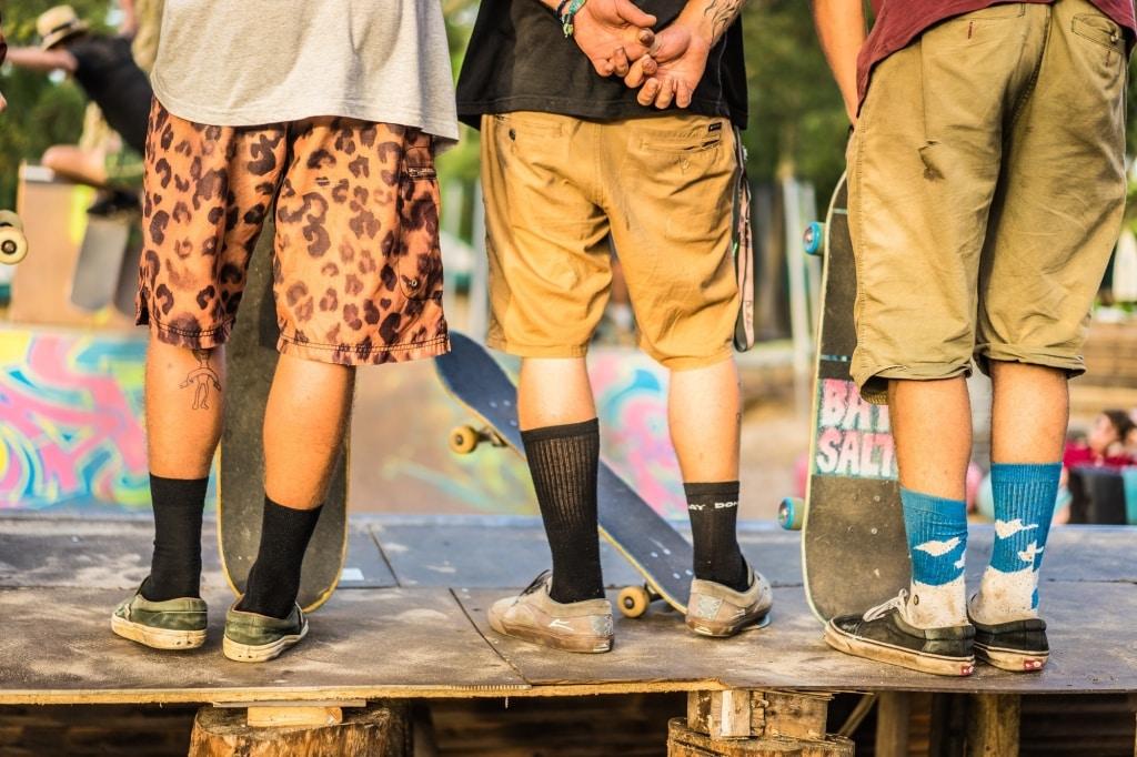 surfen met tieners kamp