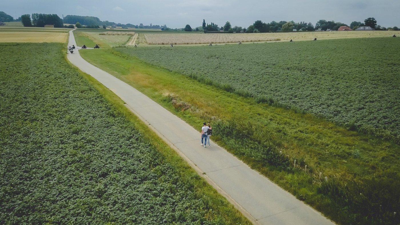 wandelen in Oudenaarde