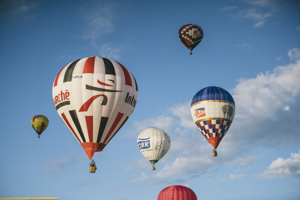 In beeld: Mondial Air Balloon festival