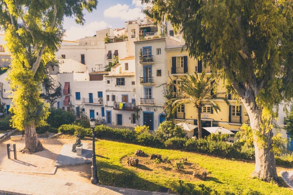 ibiza oude stad bezoeken