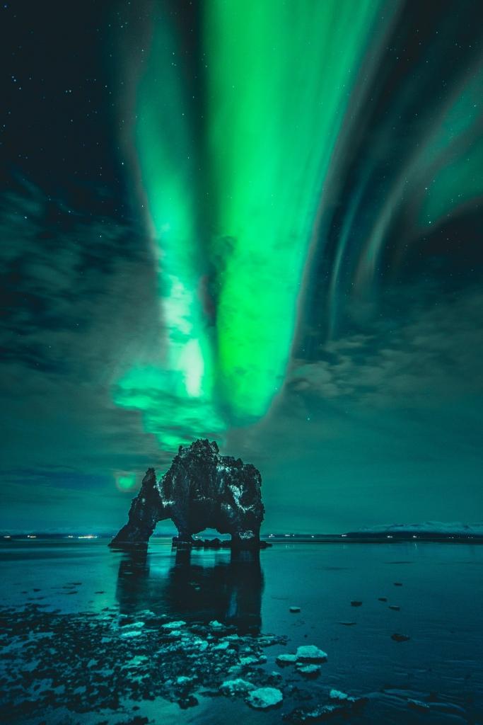 mooiste instagram locaties IJsland - Hvitserkur