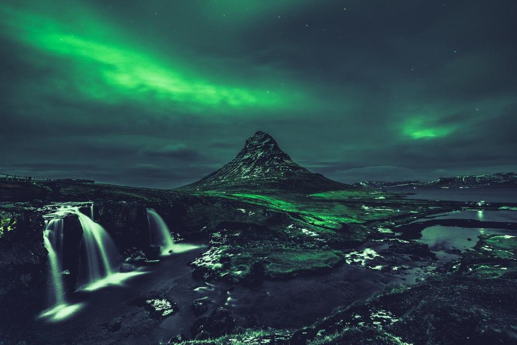 Noorderlicht Kirkjufell - beste instagram spots