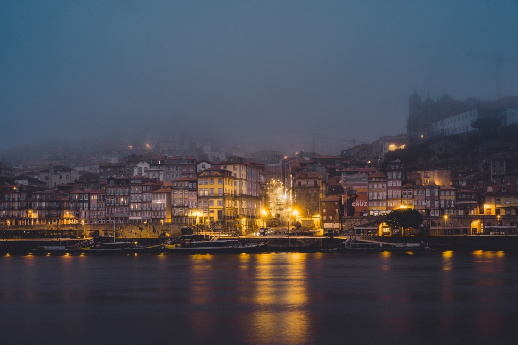 Fotografie locaties in Portugal - Porto Douro zonsondergang