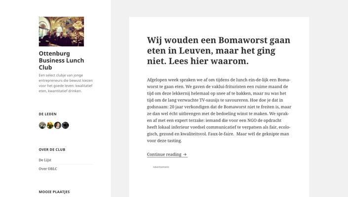 beste foodblog belgie nederland