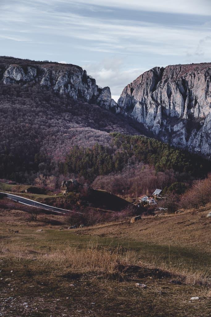 Turda gorge in Roemenië