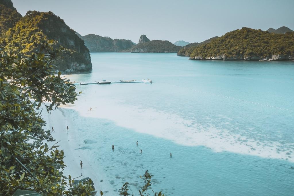 thailand werken op strand