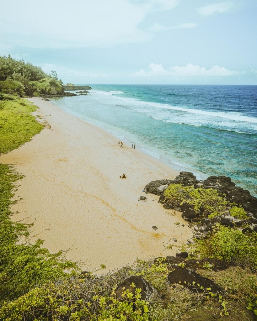 stranden in mauritius