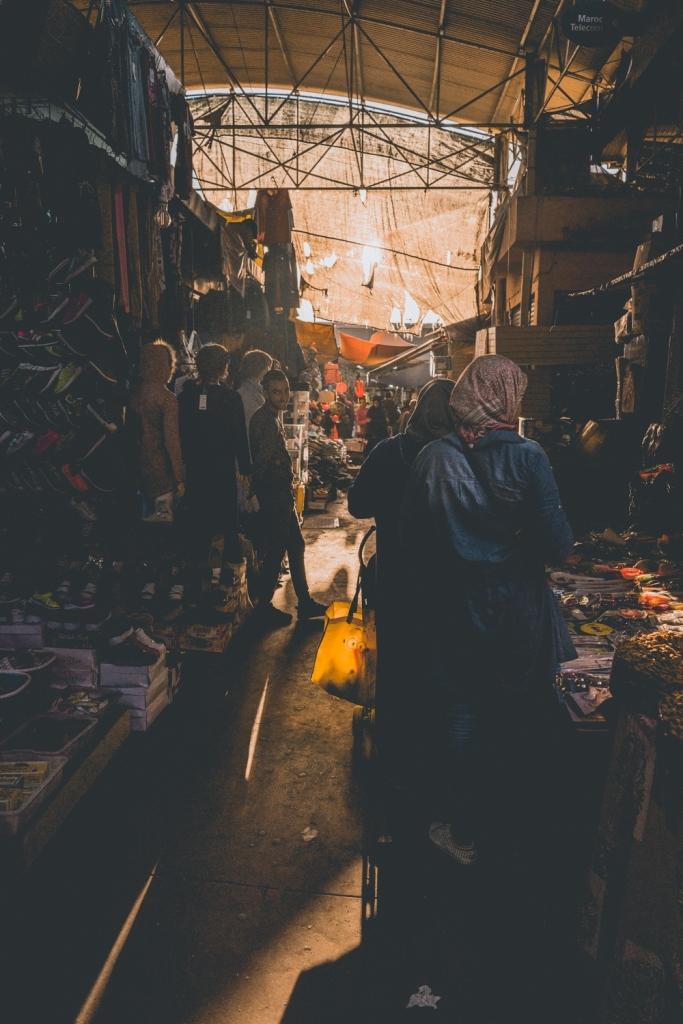 de mooiste souk van Marokko