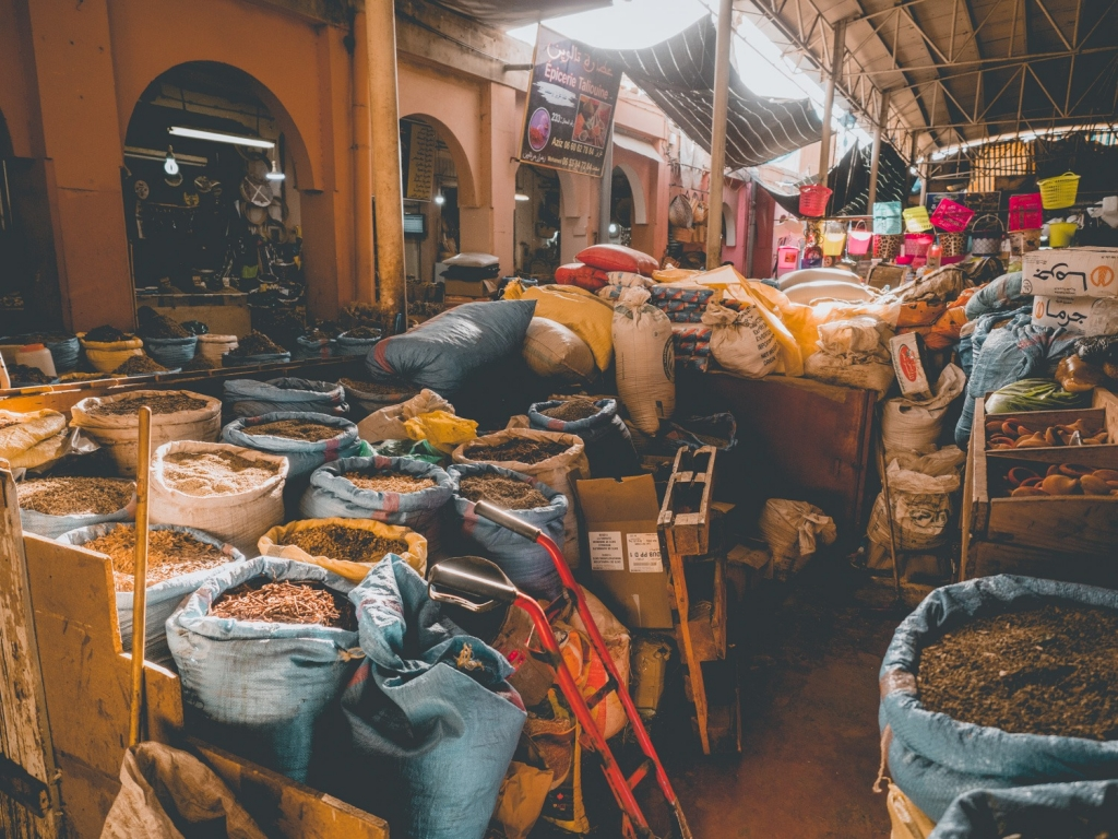 Marokko Souk Souk El Had d'Agadir