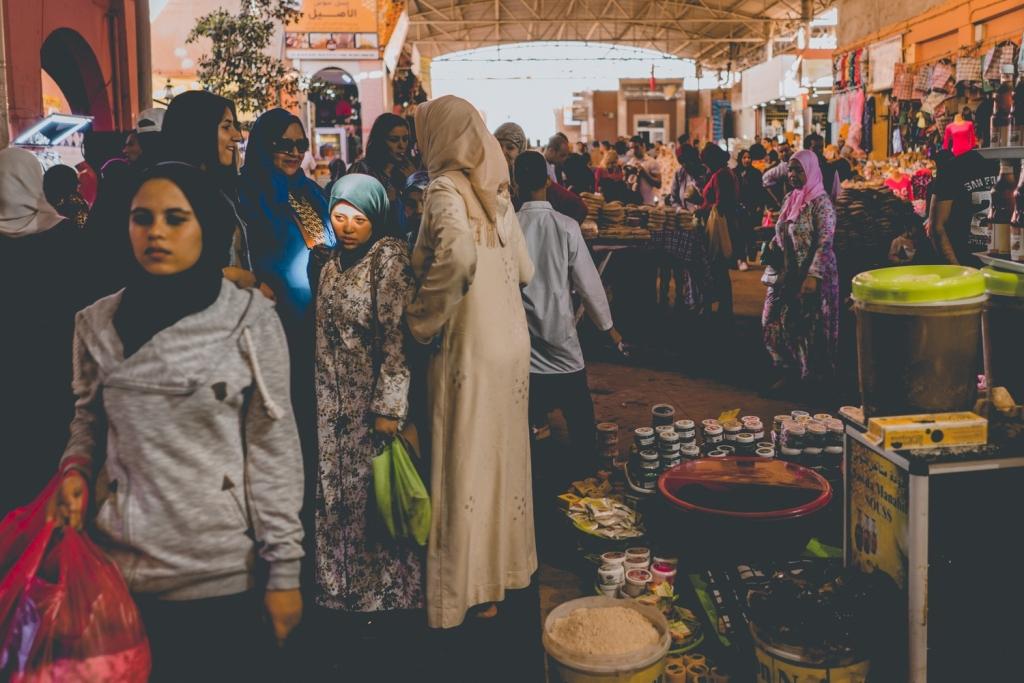 Fotos van de Souk El Had d'Agadir