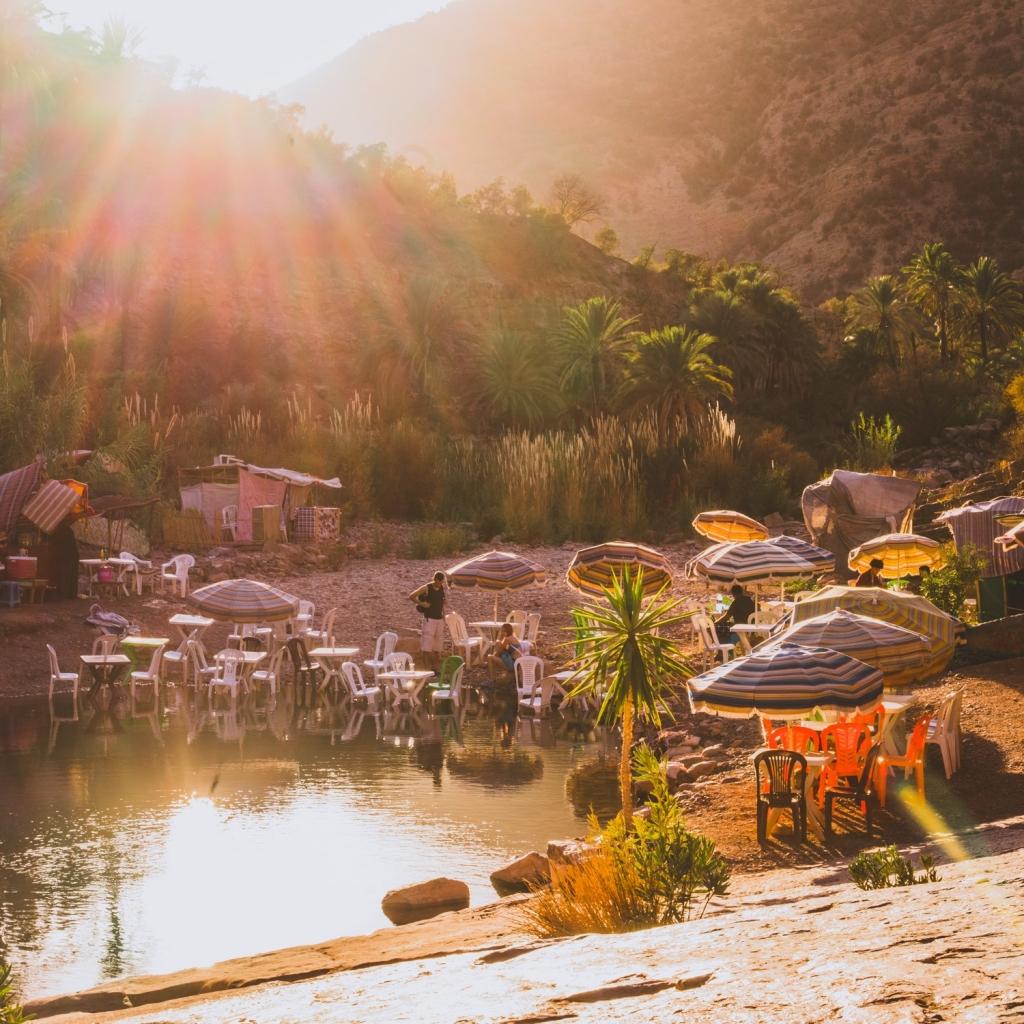 Vallee du Paradis Marokko
