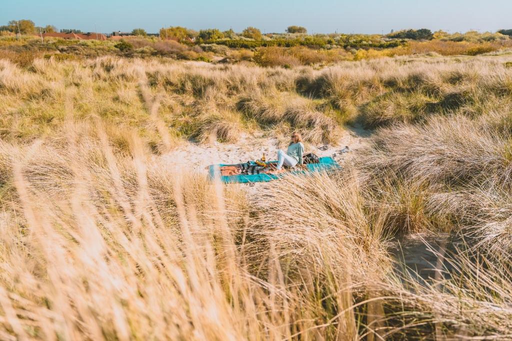 waar picknicken aan zee