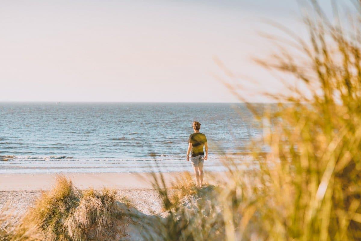 Een strandvakantie met een peuter en een baby. Een kortverhaal