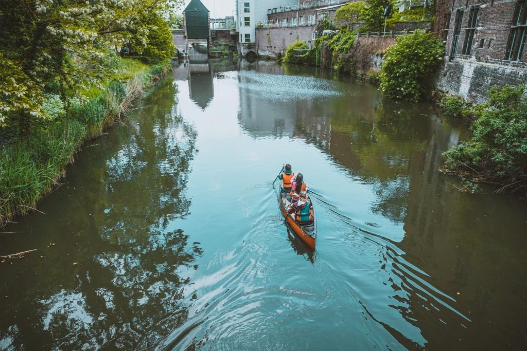een kano huren in mechelen