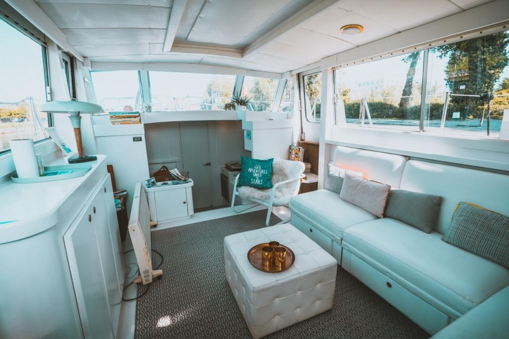 slapen op een boot in mechelen