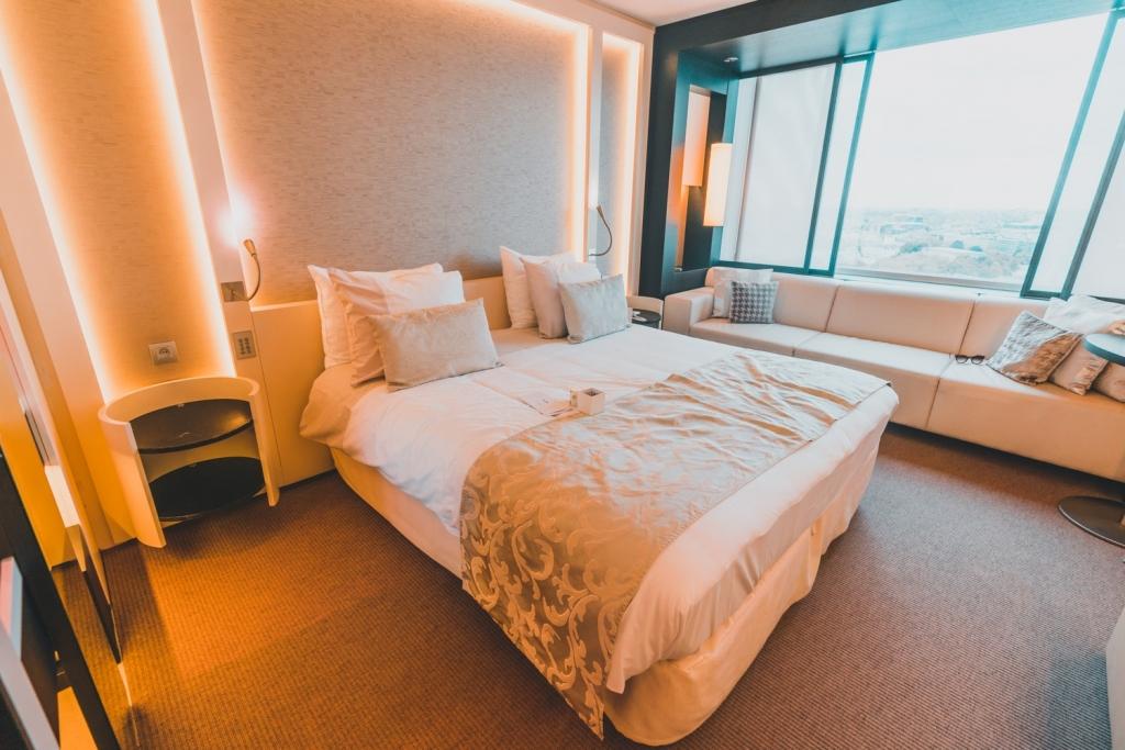 hotel slapen in brussel the hotel