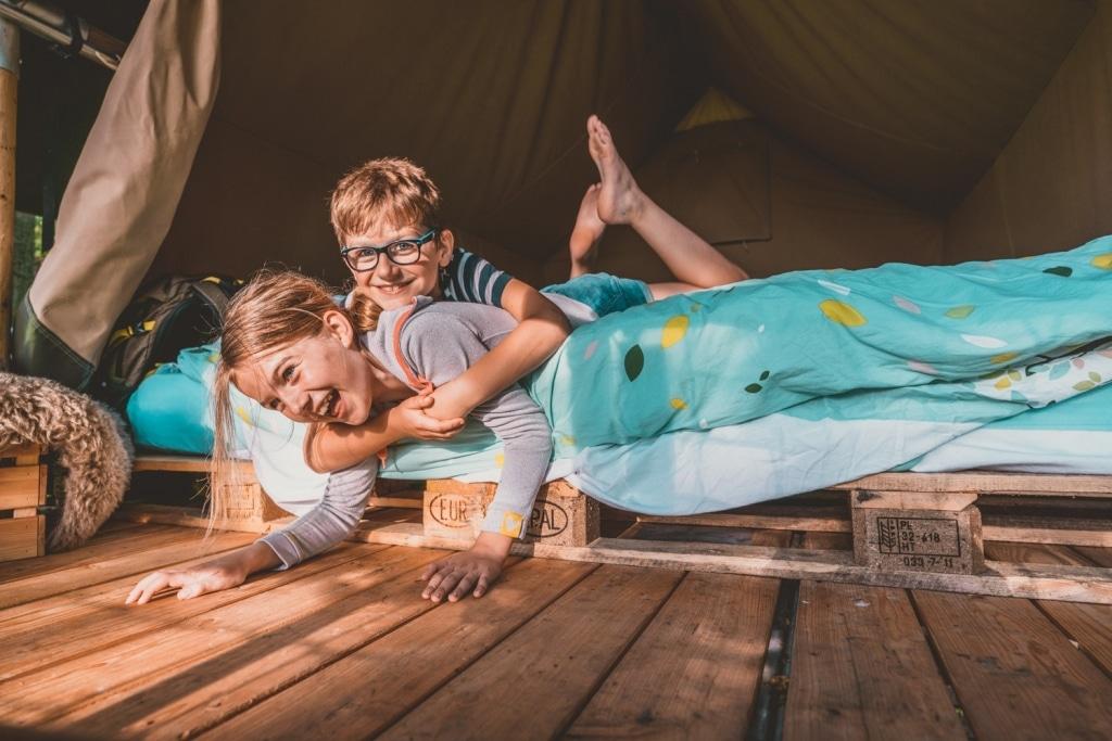 slapen in tenten in belgie